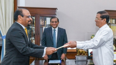 Justice S. Tureiraja was sworn in as acting President of the Court of Appeal