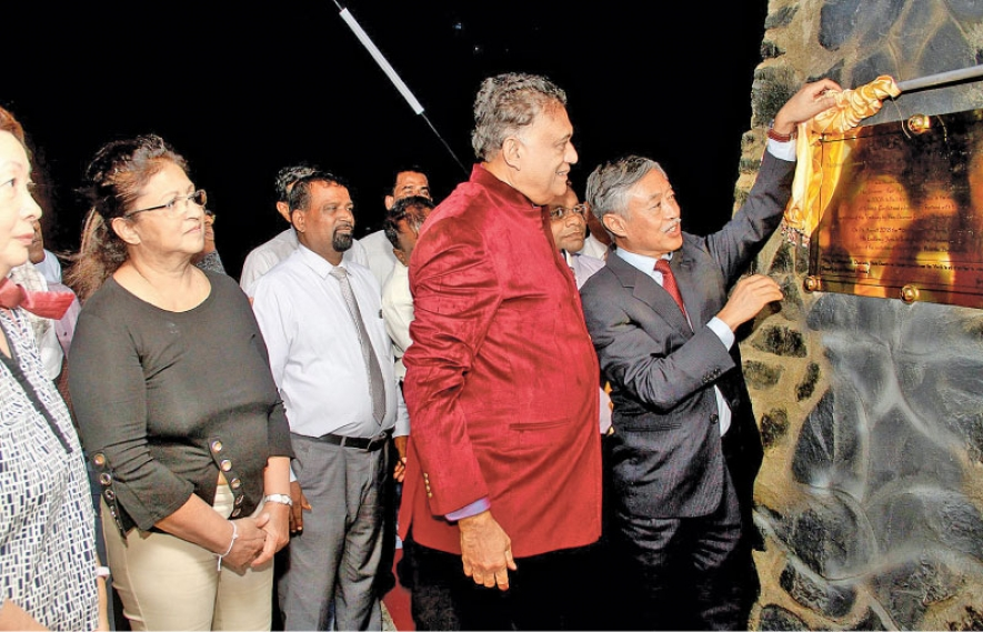 Governor's Jetty Trincomalee unveiled