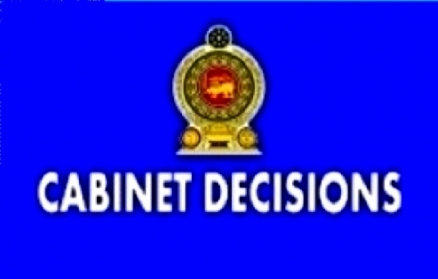 Decisions taken by the Cabinet of Ministers at the meeting held on 03-12-2015