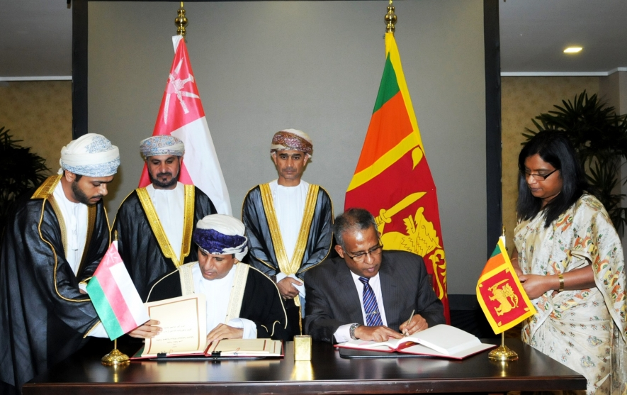 Sri Lanka and Oman sign Agreement on Avoidance of Double Taxation and Prevention of Fiscal Evasion