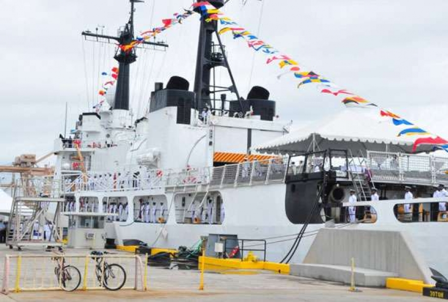 US hands over High Endurance Cutter to SL