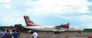 President declares open Jaffna International Airport