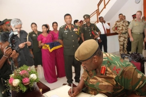 """Some Members of Tamil Diaspora Pump in Money to Create Chaos in Jaffna for Their Survival Overseas"" – Jaffna Commander"
