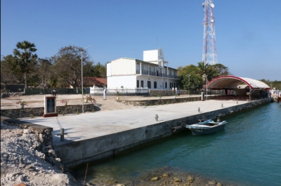 Delft Jetty declared open by Navy