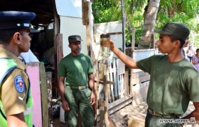 Security Forces join dengue eradication program