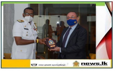 French Ambassador meets Commander Southern Naval Area