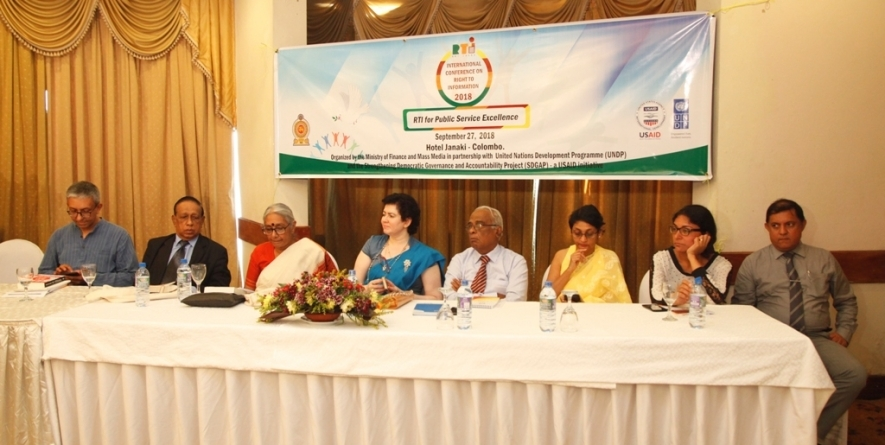 Discussion held on Indian Experience in Right to Information