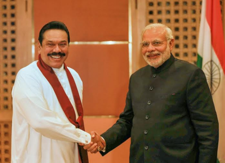 President Rajapaksa and PM Modi discusses regional issues in Nepal