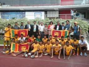 Sri Lanka National Junior Under 19 Football team triumph in Dhaka
