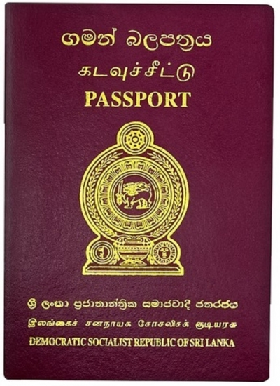 Sri Lankan passport goes up by 9 notches to 84th in the globe