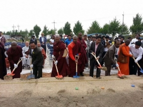 Foundation stone laid for the first Korea – SL Buddhist Vihara in S.Korea