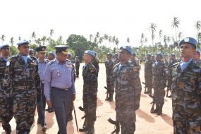 UNPK mission contingent passes out in Sri Lanka