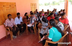 Troops Get Employment Opportunities for Kilinochchi youth