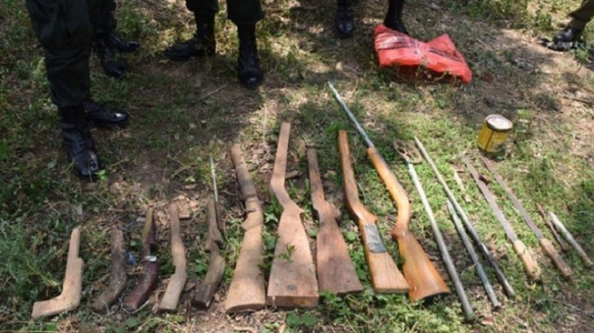 Kilinochchi gun factory raided