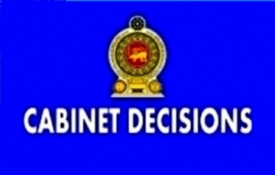 Decisions taken by the Cabinet of Ministers at the meeting held on 16-12-2015