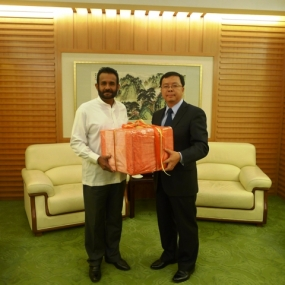 Sri Lanka donates tea to earthquake victims in China