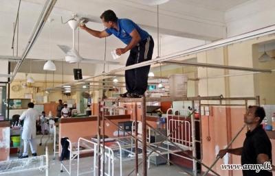 Wards renovated at 'Apeksha' Hospital