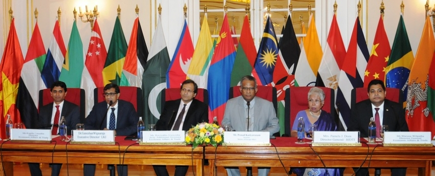 LANKA FOREIGN POLICY AND ECONOMIC DIPLOMACY DIALOGUE 2018 CONCLUDES