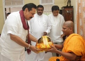 President Participates in several religious activities in Anuradhapura