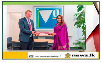 Consul General of Sri Lanka calls on the State Secretary of the Federal State of Saarland