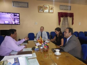 Canadian officials meet Jaffna District Secretary