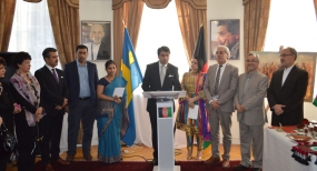 Sri Lanka featured at the Second Asian Cultural Festival in Stockholm