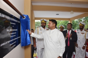 State Minister of Defence declares open Sailors' Married Quarters