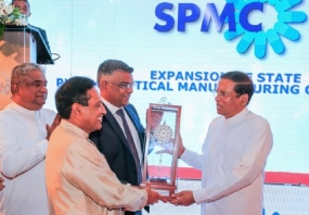 SPC  to produce 70 percent of Sri Lanka's pharmaceutical  requirement