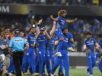 Malinga becomeshero as Mumbai Indians clinch 4th IPL title  -