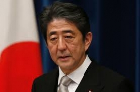 Japan's PM Shin​zo Abe will arrive in Sri Lanka today