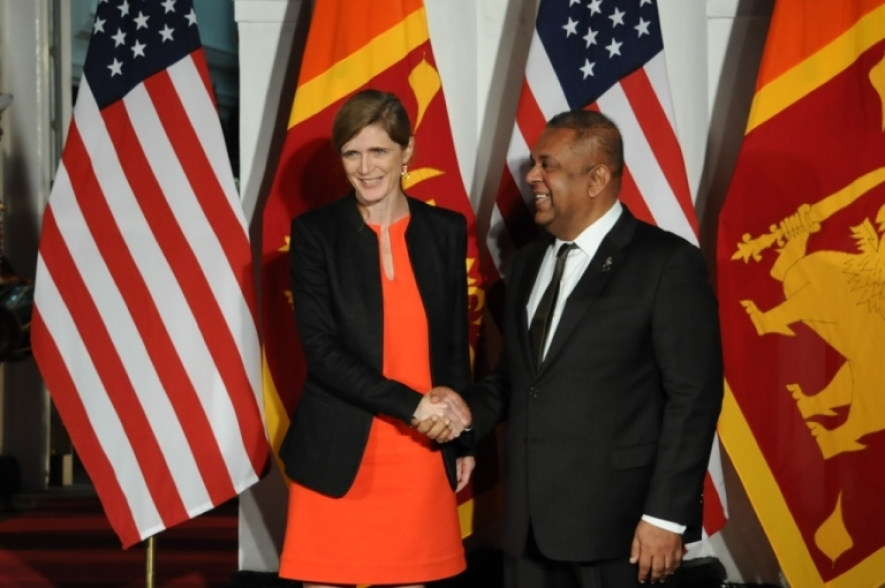 Remarks by Foreign Minister Mangala Samaraweera following talks with Ambassador Samantha Power