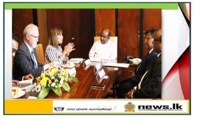 Speaker Meets Resident Representatives of UN and UNDP