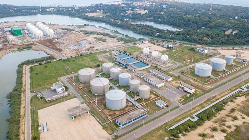 Sinopec to operate tank farm in Hambantota