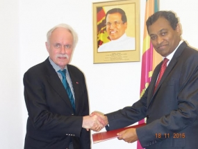 Former German Ambassador to SL Juergen Weerth appointed as SL's Honorary Consul for North Rhine Westphalia