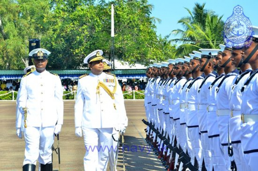 Passing out of 223rd regular intake of the Sri Lanka Navy