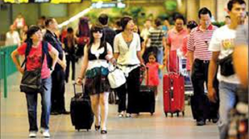 July tourist arrivals up by 83% compared to June