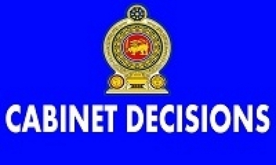 Decisions taken by the Cabinet at its Meeting held on 2014-06-05