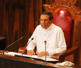 Policy Statement delivered by President Maithripala Sirisena