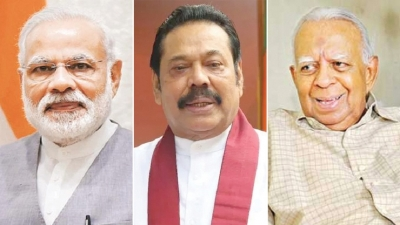 Modi meets Mahinda, TNA leadership