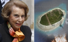 L'Oreal heiress Liliane Bettencourt sells island paradise for £60m