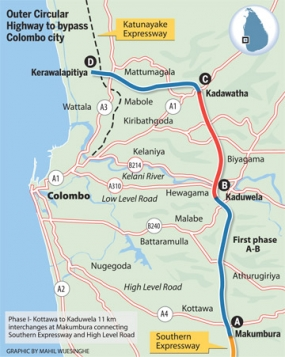 Outer Circular Highway - Northern Section II (from Kadawatha to Kerawalapitiya) Project