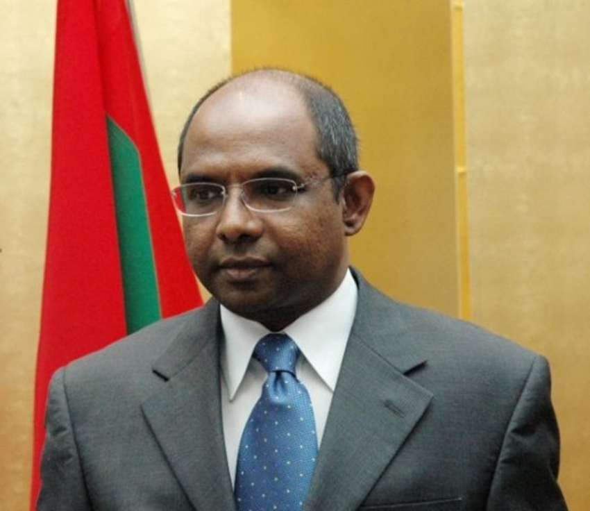 Maldivian Foreign Minister visits Sri Lanka