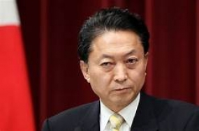 Japan's ex-prime minister arrives in Sri Lanka