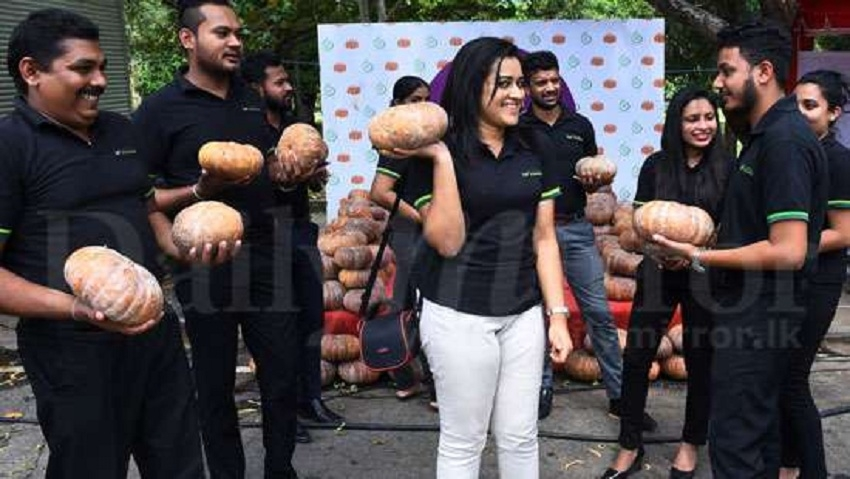 Thousands of kilos  sold  Pumpkin  Festival held in Colombo