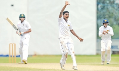 Ten-wicket Sanjaya bowls Lanka to 74-run win