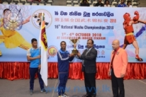 Navy bags a number of gold medals at National Wushu Championship