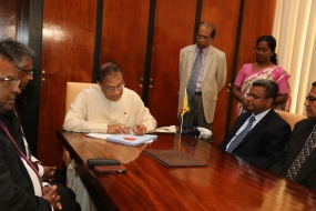 Speaker signs LA Elections (Amendment) Bill
