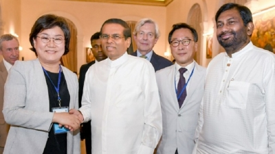 President hosts special banquet for visiting representative of ICAPP