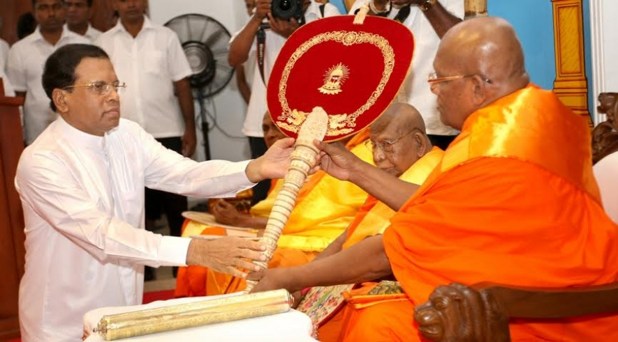 Guidance & advice of Maha Sangha needed for country's progress - President