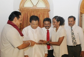Senior Badminton Champion Chandrika de Silva felicitated